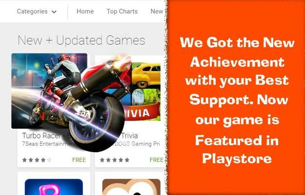 Turbo Racer - Bike Racing Game is Featured in Google Play Store